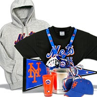 New York Mets Gift Basket Deluxe (105B)