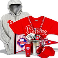 Philadelphia Phillies Gift Basket Deluxe (103B)