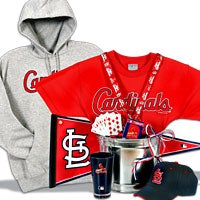 St. Louis Cardinals Gift Basket Deluxe (107B)