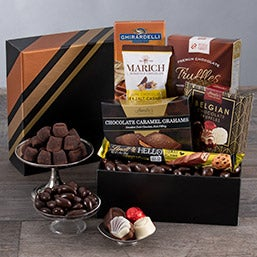 Chocolate Temptation Gift Basket (5522)