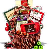 gift exchange mini christmas basket