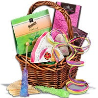 'Mini' Tea & Cookies Gift Basket (5527)