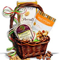 Nut Sampler Gift Basket™ - (RETIRED) (5528)