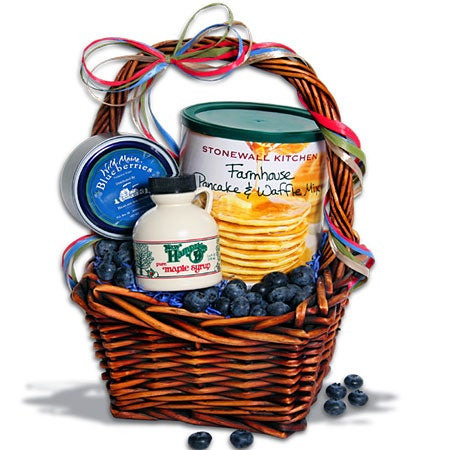 Taste of New England Mini Breakfast Gift Basket