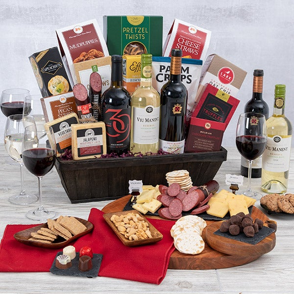 New Year's Gift Basket of Celebration
