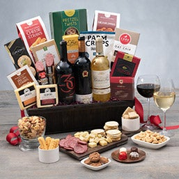 New Years Gift Basket of Celebration