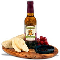 Bread Board & Dipping Oil (5060)