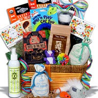 Ultimate Pampered Cat Gift Basket (6501)