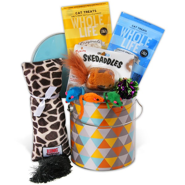 Cat Lover's Gift Basket
