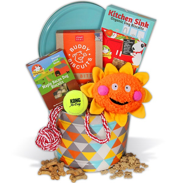 Pet Gift Basket for Dogs