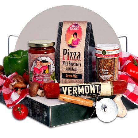 Fun gift basket by for Homemade baked goods gift basket ideas