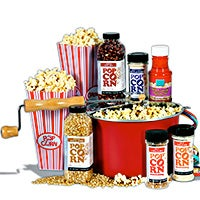 Popcorn Lovers/Night At The Movies Gift Basket Classic (5003)