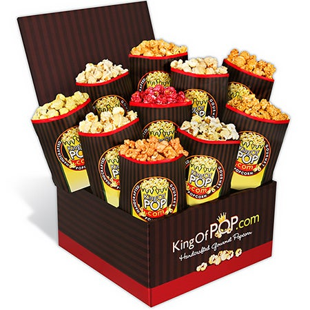 Father's Day Backyard BBQ Popcorn Sampler