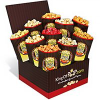 Backyard BBQ Popcorn Sampler (7403)