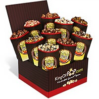 Chocolate Popcorn Sampler (7404)