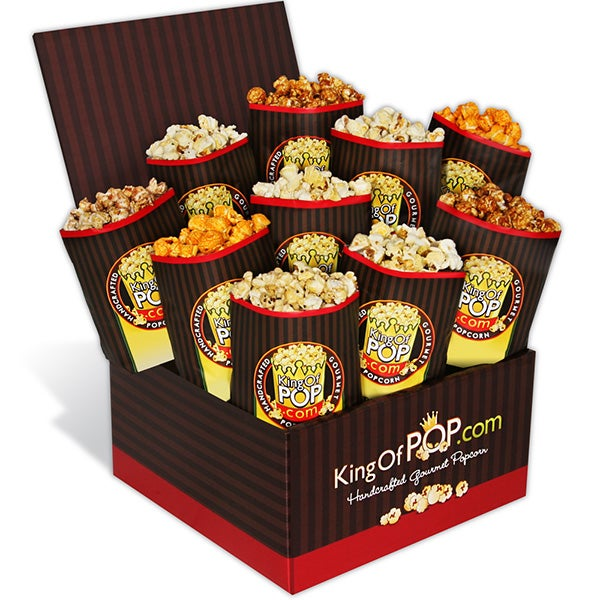 The critics choice gourmet popcorn sampler by gourmetgiftbaskets the critics choice gourmet popcorn sampler negle Choice Image