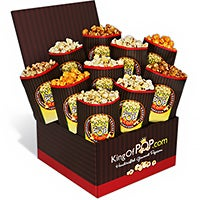 The Critic's Choice Gourmet Popcorn Sampler
