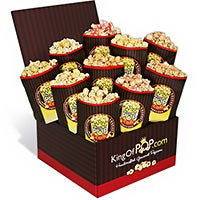 Dinner For Two Popcorn Sampler