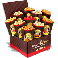 Father's Day Backyard BBQ Popcorn Sampler (7402)