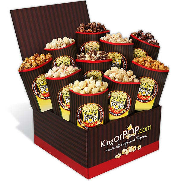 Holiday Gourmet Popcorn Sampler