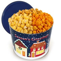 Christmas On Main Street Popcorn Tin (7264)
