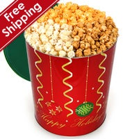 Christmas Ornaments Popcorn Tin (7263)