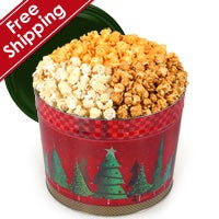 Christmas Tree Gourmet Popcorn Tin (7262)