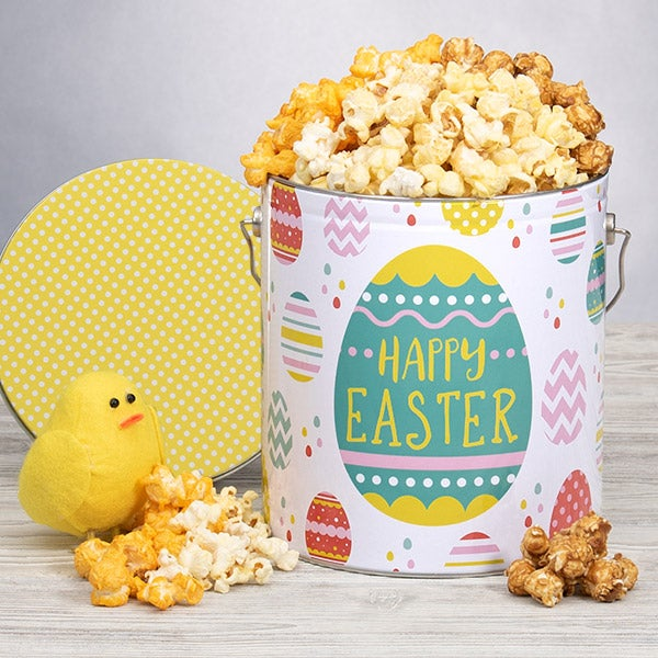 Easter Popcorn Tin - People's Choice 1 Gallon