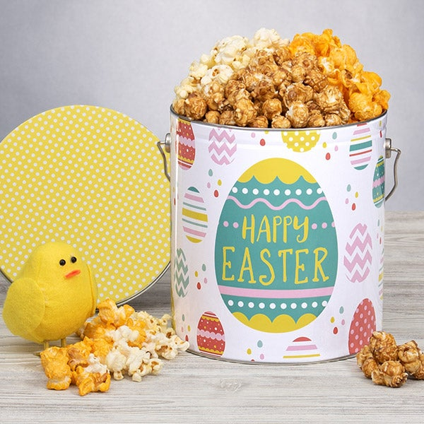 Easter Popcorn Tin - Traditional 1 Gallon