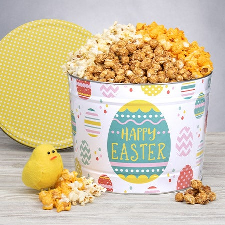 Easter Popcorn Tin - Traditional 2 Gallon