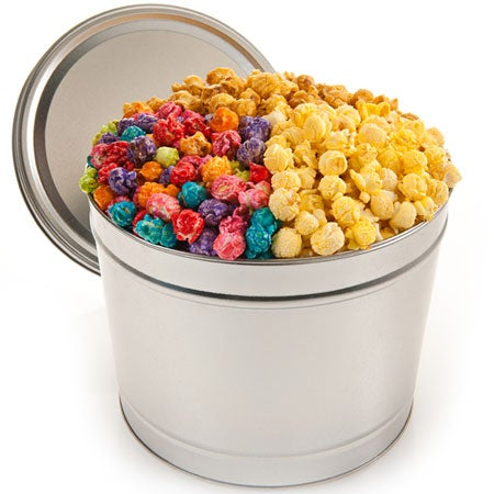 Festive Favorites Popcorn Tin