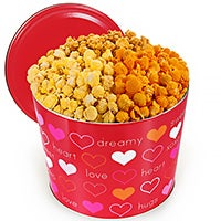 For My Valentine Popcorn Tin (7253)