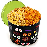 Spooky Eyes Popcorn Tin