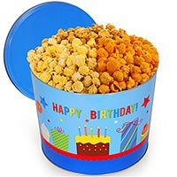 Happy Birthday Popcorn Tin (7001)