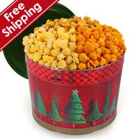 Holiday Cookie Popcorn Tin (7262)
