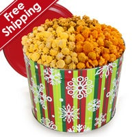 Holiday Traditional™ Popcorn Tin (7260)