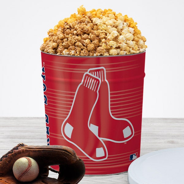 Boston Red Sox Popcorn Tin 7050