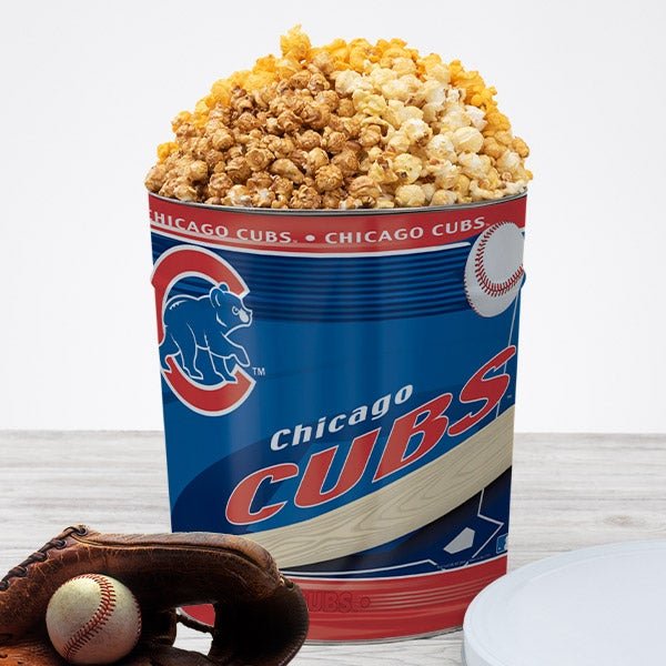 Chicago Cubs Popcorn Tin 7051