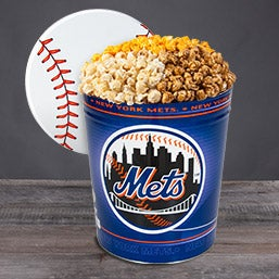 New York Mets Popcorn Tin 7056