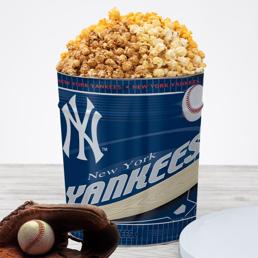 New York Yankees Popcorn Tin 7055