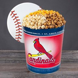 St. Louis Cardinals Popcorn Tin 7058