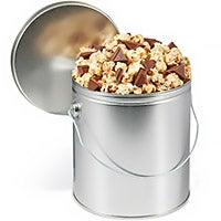 Mint Cookie Popcorn Tin with Ghirardelli (7111)