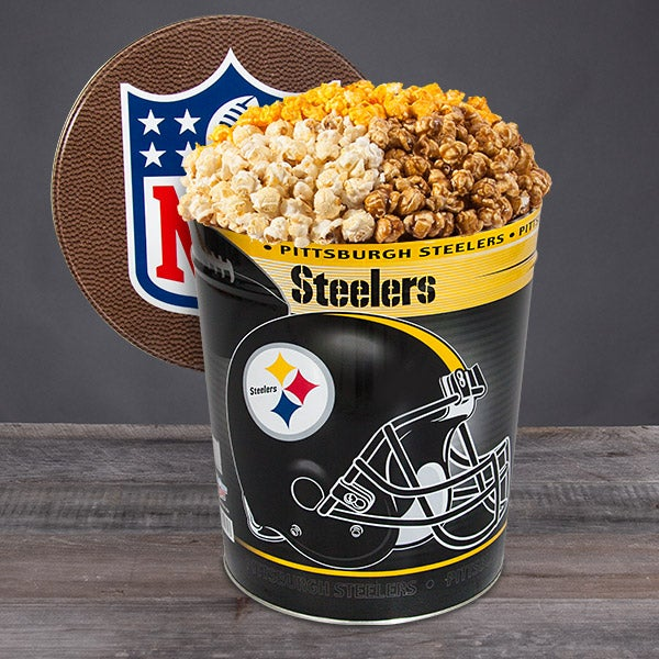 Pittsburgh Steelers Popcorn Tin 7072