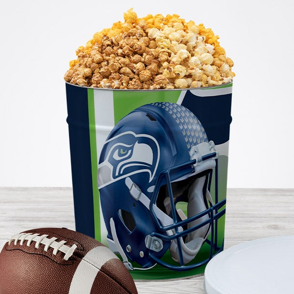 Seattle Seahawks Popcorn Tin 7073