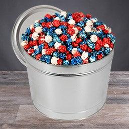 Patriotic Popcorn Tin (7290)