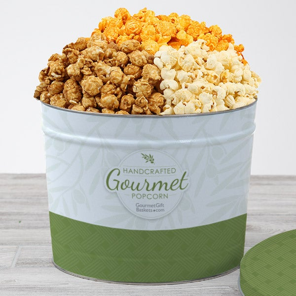 People's Choice Popcorn Tin