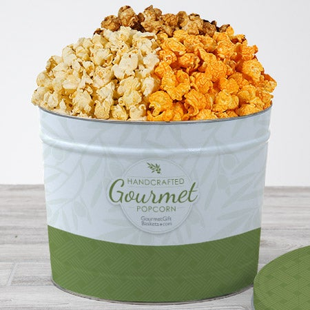 Traditional Gourmet Popcorn Tin