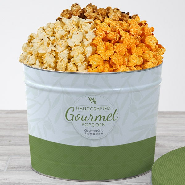 Traditional Gourmet Popcorn Tin by