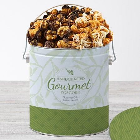 Triple Chocolate Caramel Popcorn Tin - 1