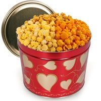 Valentine's Day Popcorn Tin (7250)